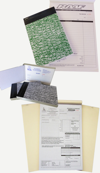 A4 Invoice Books/Pads